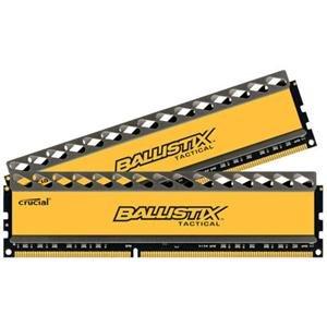 Ballistix Tactical 8GB Kit 4GBx2 DDR3 1866 MT/s PC3-14900 CL9 at 1.5V UDIMM 240-Pin Memory BLT2KIT4G3D1869DT1TX0