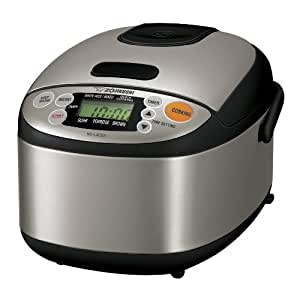 Amazon.com: Zojirushi NS-LAC05XT Micom 3-Cup Rice Cooker