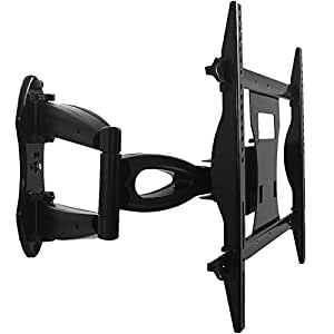 fitquipment full motion tv wall mount corner. Black Bedroom Furniture Sets. Home Design Ideas