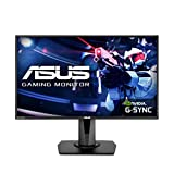 ASUS VG278QR 27' Gaming Monitor 165Hz Full HD (1920 x 1080) 0.5ms G-SYNC Eye Care DisplayPort HDMI DVI