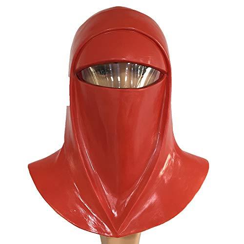 ZhangHD Superhero Series Star Wars Mask Cosplay Helmet (Imperial Guard) Red ()