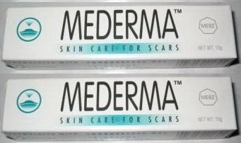 x 2 Tubes 10 Grams Mederma Gel Skin Care for Scars from Thailand