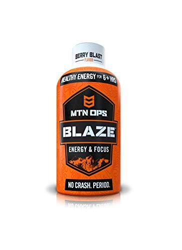 MTN OPS Blaze Energy Shots, Berry, 12-Shot Pack