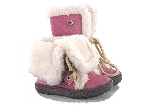 Bartek Girls Shoes Leather Boots for Winter 11424/20C Pink (Toddler/Little Kid) (25 M EU / 8.5-9 M US ()