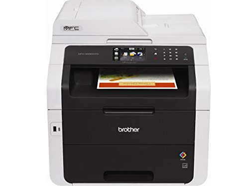 Brother Wireless All-In-One Color Printer with Scanner, Copier and Fax (MFC9330CDW), Amazon Dash Replenishment Enabled (Portable Laserjet Printer compare prices)