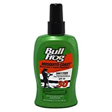 Bullfrog Mosquito Coast Sunblock & Insect Repellant Spf 30 4.7 Oz (3 Pack) by Bull Frog
