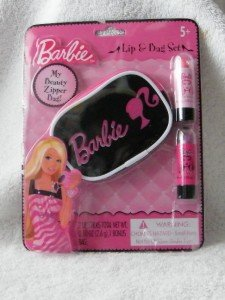 Barbie Candy Lipstick (Barbie Lip & Bag Set)
