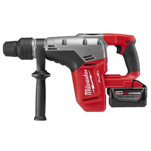 Milwaukee Tool 2717-22HD Rotary Cordless SDS Max Hammer Drill Kit 1-9/16 Inch 18.75 Inch M18TM FuelTM SDS Max by Milwaukee (Image #1)
