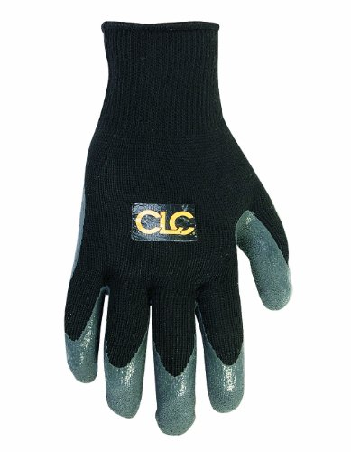 CLC Custom Leathercraft 2031K Latex Gripper Gloves, (Latex Gripper Gloves)