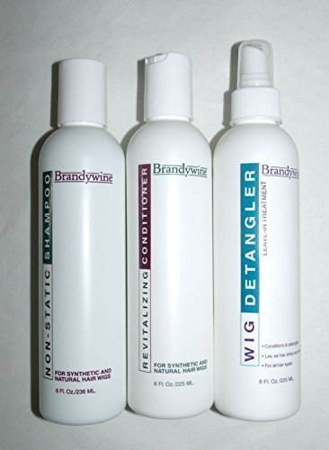 Brandywine Shampoo, Conditioner & Detangler Wig Care Kit (8 oz. each) ()