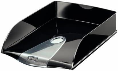 Polystyrol schwarz DIN A4 LEITZ Briefablage Elegant