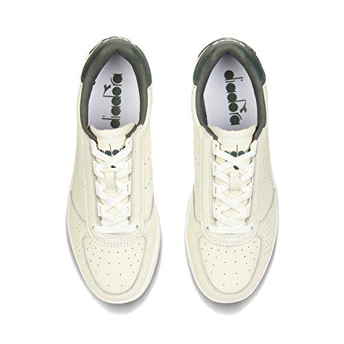 big discount for sale cheap sale pre order Diadora Men's B.Elite Premium L Low-Top Sneakers C7099 - WHITE-DARK GREEN JUNGLE KzzWc6B6