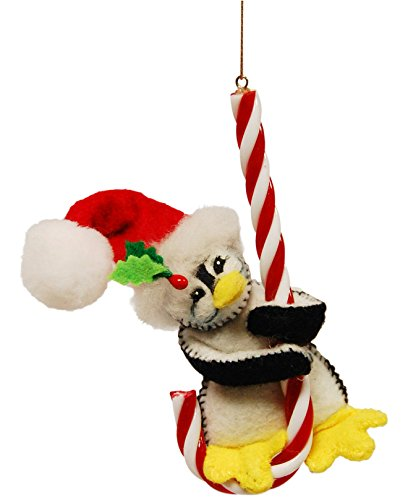 Candy Annalee Christmas (Annalee 4in Candy Cane Penguin)