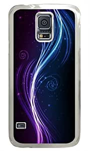 Great Abstract Custom Samsung Galaxy S5/Samsung S5 Case Cover Polycarbonate Transparent