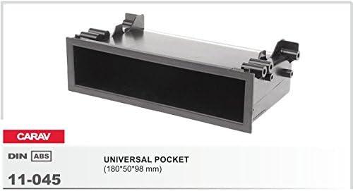 12 2/Kit de montage autoradio fa/çade dautoradio Double DIN Dash Kit dinstallation avec adaptateur ISO et adaptateur dantenne 45 464 CARAV 11