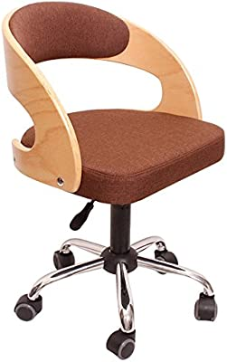 Awe Inspiring Amazon Com Yjxjjd Solid Wood High Back Small Office Chair Caraccident5 Cool Chair Designs And Ideas Caraccident5Info