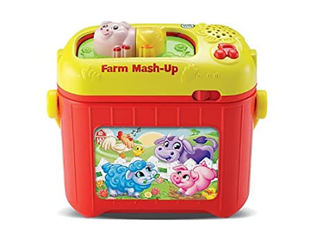 LeapFrog Farm Animal Mash-Up Kit Introduce toddlers to the world of animals, colors and logic kids toy