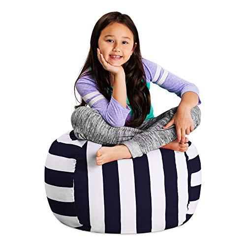 Posh Stuffable Kids Stuffed Animal Storage Bean Bag Chair Cover - Childrens Toy Organizer, Regular 27