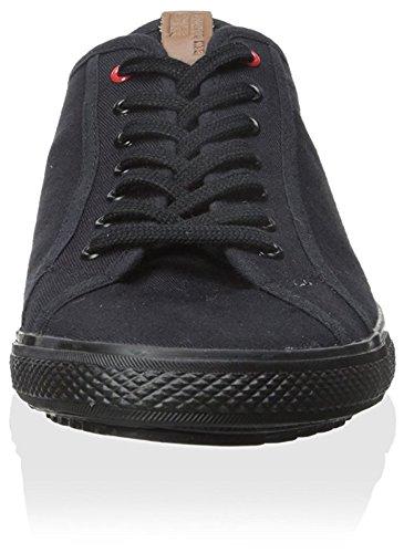Ben Sherman Heren Conall Lo Fashion Sneaker Zwart