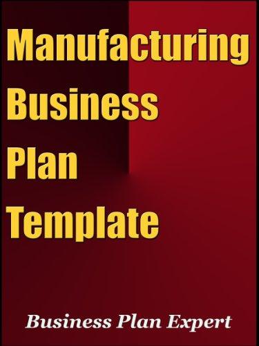 Business plan manufacturing