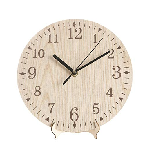 Cheap  FZZ698 Diy Clock Vintage Rustic Wooden Wall Clock Antique Shabby Retro Home..