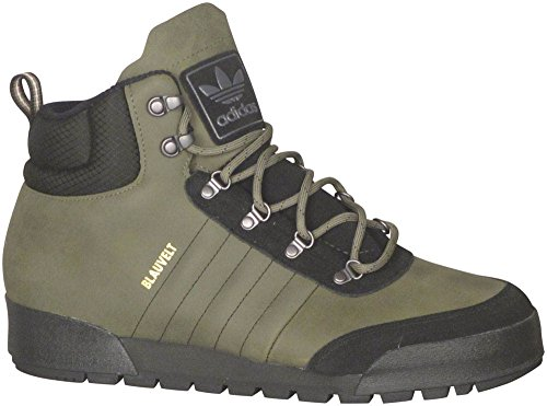 clearance original really New Adidas Men's Jake Boot 2.0 Rubber Leather Green Olive Cargo / Core Black-brown discount cheap cheap affordable JxyDSi