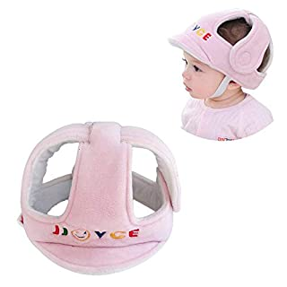 G-Tree Baby Head Protector, Breathable Safety HeadGuard, Protection Cap Harnesses Hat for Infant Toddlers Learn to Walk and Sit (Pink)