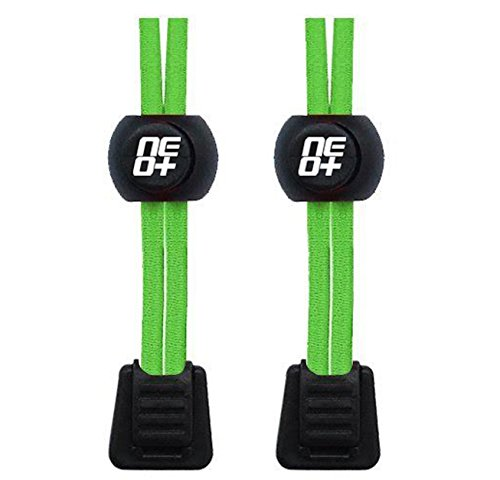 4 Verde neon Triathlon elastico per di il Blocco e colore Pack Lacci blu l'esecuzione BTrwB