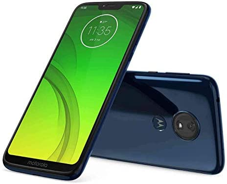 Motorola Moto G7 Power 32GB+3GB RAM XT1955-2 LTE Factory Unlocked GSM 5000mAh Battery Smartphone (International Version) (Marine Blue) (Renewed) WeeklyReviewer