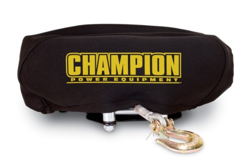 (Champion Weather-Resistant Neoprene Storage Cover for Winches 4000-5000 lb.)