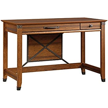 Genial Sauder Carson Forge Writing Desk, Washington Cherry Finish