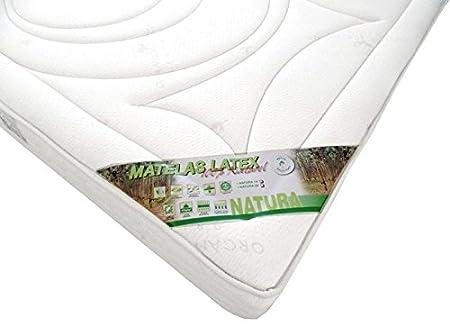 HEVEA SELECTION Colchón Latex 100% Natural 85 kg - Natura 90 x 200 Grueso. 19 cm - clásica: Amazon.es: Hogar