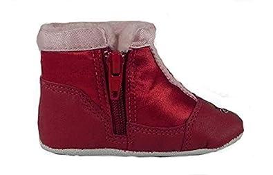 fc300cfbf6ae8 adidas Infant Originals Winter Hi Crib Sport Goofy Boot, Red/Pink ...