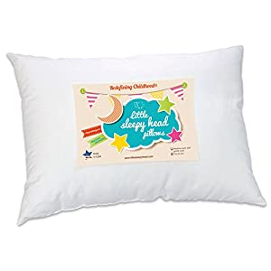 Toddler Pillow – Soft Hypoallergenic – Best Pillows for Kids! Better Neck Support and Sleeping! They Will Take a Better…