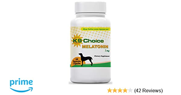 K9 Choice Melatonin 1 mg 180 Capsules