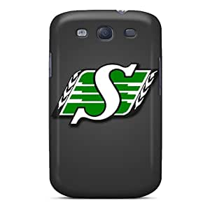 InesWeldon Samsung Galaxy S3 Scratch Protection Mobile Cases Custom Lifelike Saskatchewan Roughriders Skin [Ylv14837Rqcz]