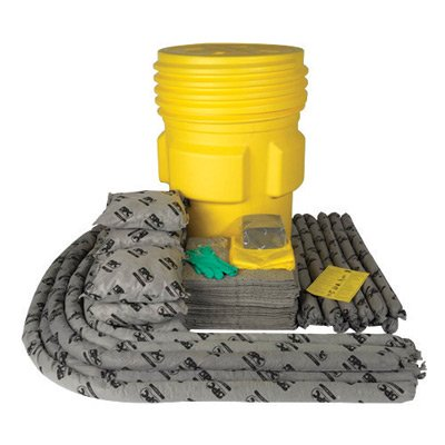 Brady SKA95 95 gal Drum SPC Allwik Overpack Spill Kit (1/EA) ()