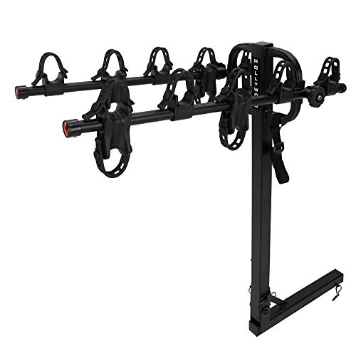 Traveler Hitch Rack - Hollywood Racks HR9200 Traveler 5-Bike Hitch Mount Rack (2-Inch Receiver)