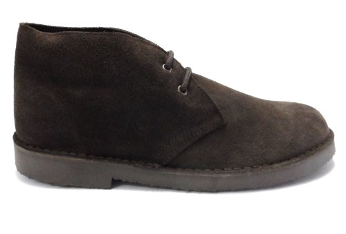 70s retro real suede desert boots in 5 colours (6, dark brown)
