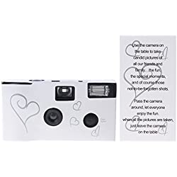 LANDUM 36 Photos Power Flash HD Single Use One Time Disposable Film Camera Party Gift —