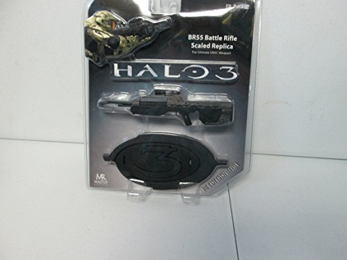 Halo 3 BR55 Battle Rifle Scaled Replica Die-Cast Construction