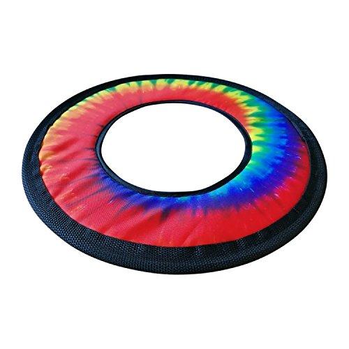 Tie Dye Fabric Frisbee Flying Ring 10''