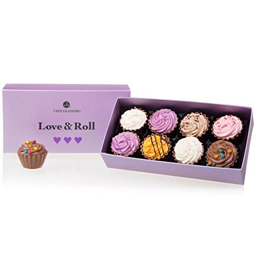 Love&Roll Cupcakes - XL - 8 Cupcake Pralinen