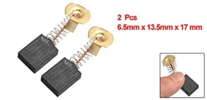 uxcell/® Carbon Brushes for Electric Motors 23mm x 16mm x 5mm Replacement Repair Part Set of 10