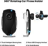 Smart Sensor Wireless Car Charger Mount New