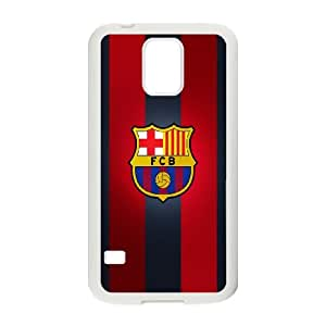 Samsung Galaxy S5 Cell Phone Case White_Barcelona_001 N5X3Z