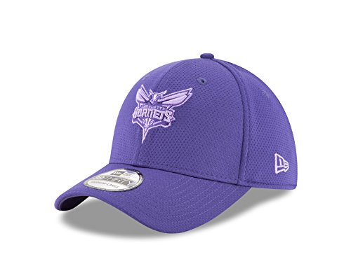 NBA Charlotte Hornets Adult Tone Tech Redux OTC 39THIRTY Stretch Fit Cap, Medium/Large, Teal