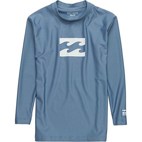 Billabong Big Boys' All Day Wave Lf Ls Wetsuits 2 Blue Slate by Billabong
