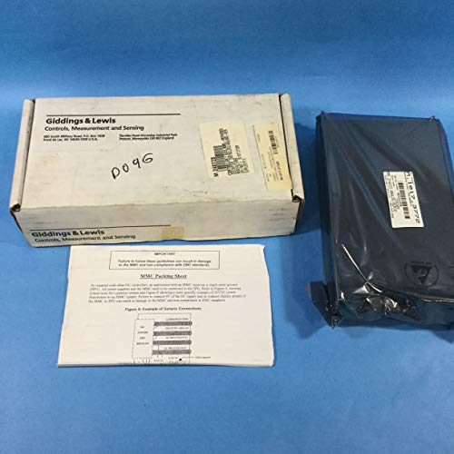 Giddings & Lewis Motion Cntrl M.1017.3772/R Axis Drive Module