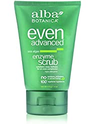 Alba Botanica Even Advanced Sea Algae Enzyme Scrub, 4 oz.